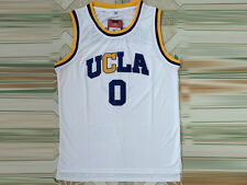 Russell Westbrook #0 NCAA OCLA White Devils Retro Stitched Basketball Jersey