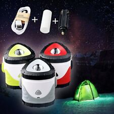 Skywolfeye LED Camping Tent Lights Lantern USB Rechargeable Outdoor Hiking Lamp
