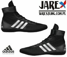 adidas Combat Speed 5 Wrestling Shoes Boots Black Boxing MMA