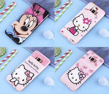 Cute Minnie Mouse Hello kitty case cover Defender for Samsung Galaxy S8 & Plus