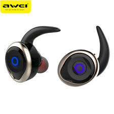 AWEI T1 Wireless Bluetooth Stereo Headphone Sport  Headset For iPhone Samsung