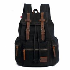 Travel Canvas Sport Rucksack School Satchel Laptop Camping Hiking Bags Backpack