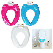 FIRST STEPS CHILDRENS KIDS &INFANTS TOILET TRAINER SEAT (No More Nappies) - BLUE