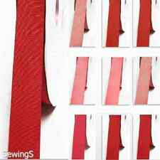 "top quality grosgrain ribbon 2"" / 50mm wide 100 yards rose to red color"