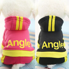 Winter Apparel Dog Clothes Pet Puppy Cat Jumpsuit Warm Coat Jacket Thick Sweater
