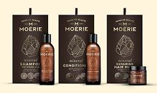 MOERIE Natural Organic Shampoo, Conditioner And Hair Mask