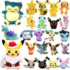 Pokemon Go Pikachu Eevee Squirtle Umbreon Plush Soft Toys Cuddly Stuffed Doll