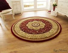 Think Rugs Heritage Traditional Red Rugs 4400