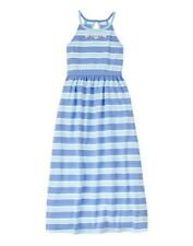 NWT Gymboree Sugar Reef Striped Maxi dress Girls SZ 4,5,6,7,8,10