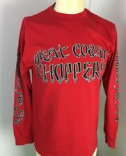 Jesse Who?West Coast Choppers 100% Cotton Long Sleeves Red Men's T-Shirts New