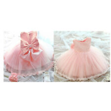 Flower Infant Baby Girl Kid Birthday Wedding Pageant Party Princess Formal Dress