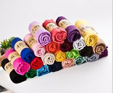 New women long candy colors soft cotton Scarf Wrap Shawl scarves fashion stole