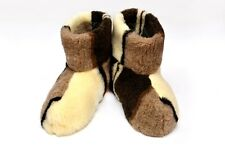 New Women 100% Sheep Wool Home Shoes Warm House Indoor Slippers Lot 145 US 9 10