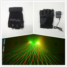 Super Bright Disco Green/Red Laser Glowing Glove for DJ Bar Club Party Show
