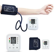 Household Portable Arm Blood Pressure Pulse Monitor Digital Sphygmomanometer