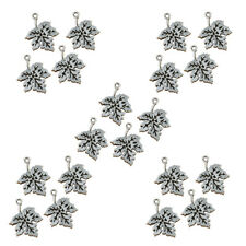 20pcs Antique Silver Metal Pendant For Necklace Tibet Silver DIY Jewelry Making
