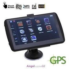 7 inch GPS navigation device 4GB navigator for car&truck free map update sa