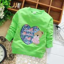 Newborn Baby Girl Fashion Clothing Infant Cotton Tops Toddler Tshirt Blouse