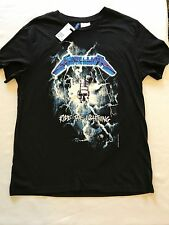 Licensed H&M Double-Sided METALLICA T-Shirts NEW With Tag Sizes M, L, XL