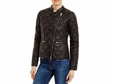 Woolrich John Rich & Bros Quilted Down Moto Jacket NWT MSRP $365