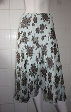 BNWT CC Fashion Silk Printed Skirt size L to Size XL