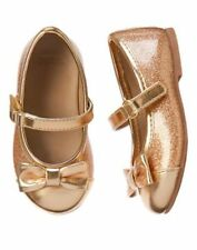 NWT GYMBOREE CITY KITTY Very Merry Gold Flats SHOES SIZES 6 7 8 9 10