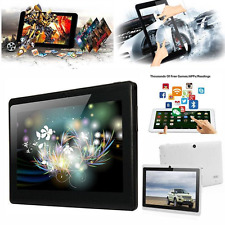 "NEW 6 Colors 7"" A33 Google Android 4.4 Quad Core Dual 1G Tablet PC WiFi"