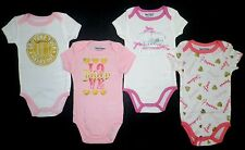 NEW JUICY COUTURE Infant Baby GIRLS One Piece Logo Bodysuit Romper 3-6 Months