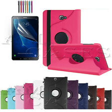 """360 Rotation Leather Stand Case Cover For Samsung Galaxy Tab A 9.7"""" 10.1"""" E 9.6"""""""