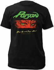Poison Rock Band T-shirt - Poison Open Up and Say...Ahh Album Cover Artwork | Me