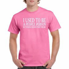 People Person Funny S Mens T Shirt I Used But Ruined Me Unisex Men Tee Humor
