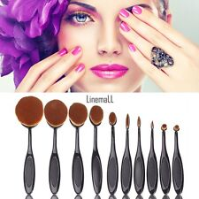 Pro Makeup Blush Tool Toothbrush Shaped Comestic Cream Puff Brushes 10 Styles LM