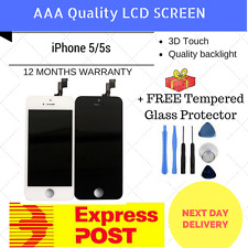iPhone 4s/5/5S LCD Screen Replacement Touch Screen Display Assembly White Black