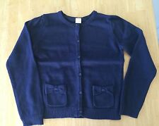 NWT Gymboree Spring Prep Navy Blue Sweater Cardigan Girls Size 10 12