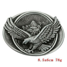 Men's Vintage Classic American Rodeo Leather Belt Buckle Western Cowboy Buckles