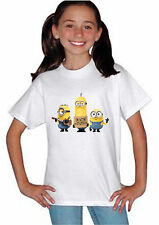Minions Despicable Me New I'm with Stupid Kids Boys Girls Children T Shirt 201