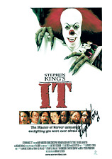 It - Pennywise - Cast Signed by Stephen King REPRINT - Glossy Print '023' (1990)