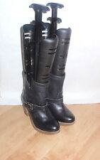NEW Schuh womens black leather pull on ankle boots - various sizes