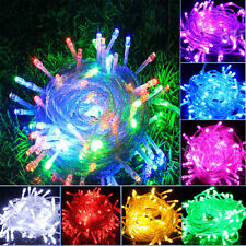 10M/20M LED Fairy Light String Lamp Christmas Party Xmas Outdoor Decor Wedding