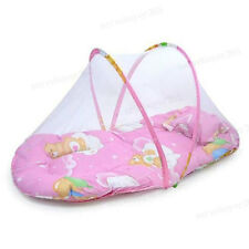 Baby Infant Folding Mosquito Net Tent with Pillow Portable Travel Kids Sleeping
