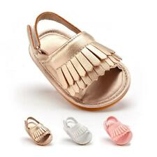 Fringed Sandals Baby Shoes Girls Boys Leather Shoes Soft Casual Baby Shoes US