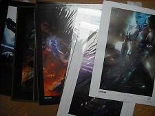Mass Effect 3 Limited Ed Lithograph Prints [not/1/2/andromeda/ps3/ps4/360/xb1]