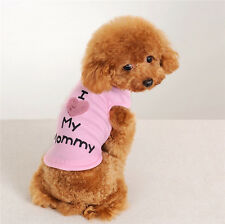 Cute Dog Clothes Pet Puppy Summer Autumn Tee Shirt Vest for Small Medium Dogs