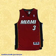 Wade MIAMI #3 Miami Heat Dwyane Wade Basketball Jersey Men Red Wade
