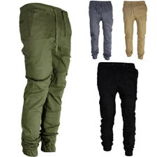 Men Sport Long Pants Casual Slim Pencil Pant Gym Running Jogging Trousers Slacks