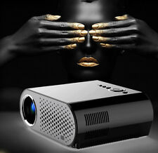 GP90 1280x800 Support 1080P Portable LED Projector 3200Lumens LCD Projector 2017