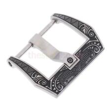 MagiDeal Stainless Steel Strap Clasp 18/20/22mm Deployment Watch Band Buckle