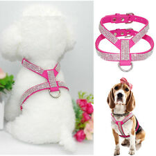 XXXS/XXS Small Teacup Dog Harness Soft Vest Puppy Collar for chihuahua yorkie