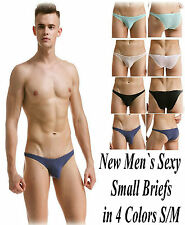 New Men`s Sexy Small Briefs in 4 Colors S/M  Pos Gay Int