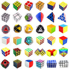 Classic 90 Style Speed Twist Puzzle Magic Cube Mind Game Education Cube Toy Gift